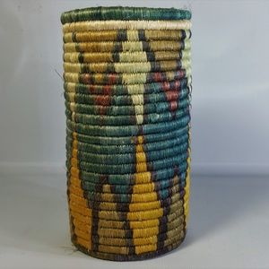 Other - Woven Wine Cozy Holder Sleeve, Handmade in Africa
